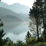 Lac de Koman, Albanie.